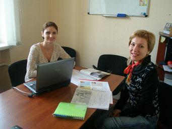 Преподаватели николаевского филиала языкового центра Лардан